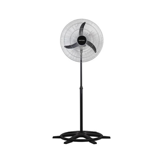 Ventilador de Coluna Ventisol 60CM Oscilante Grade Cromada Bivolt