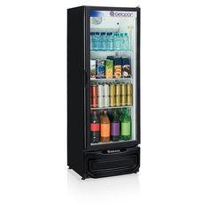 Refrigerador Vertical GPTU40PR 414 Litros Preto 220V - Gelopar