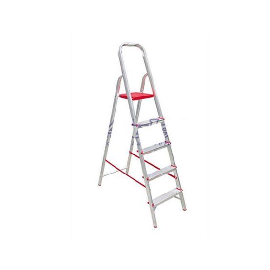 Escada Alulev em Aluminio  Residencial 5 Degraus RN107