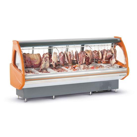 Expositor Refrimate de Acougue Top Eat2000 Vidro Curvo 220V