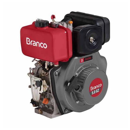 Motor Branco Diesel BD 5,0 G2 Partida Manual