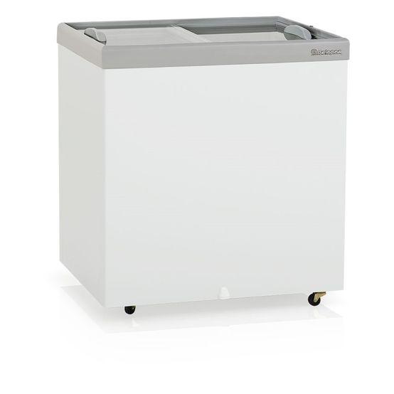 Freezer Horizontal 220 Litros Vidro Deslizante 220V - Gelopar