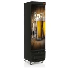 Cervejeira Vertical 230 Litros GRB23EWDPR Porta Cega Adesivada Gelopar