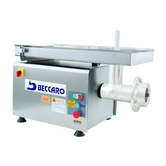 Picador-de-Carne-98-Inox-220v-BECCARO