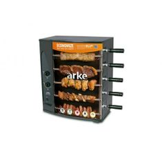 Assador á Gás Rotativo com 5 Espetos Vitta Premium Arke
