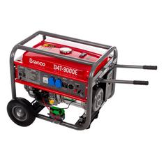 Gerador de Energia à Gasolina B4T 9000E Partida Elétrica 16,5 CV Mono 9 kVA  Branco