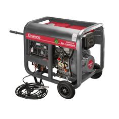 Gerador de Energia á Diesel BD W190 Partida Elétrica 2,2KvA 220V Branco