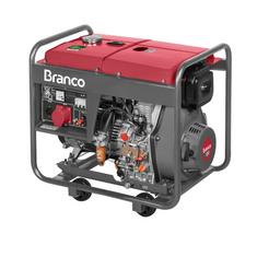 Gerador de Energia à Diesel BD 8000E3 8 kVA Trifásico 13 CV 220V Branco