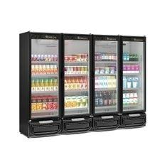 Refrigerador-Vertical-4-Portas-GCVR-1950-Preto-220V---Gelopar